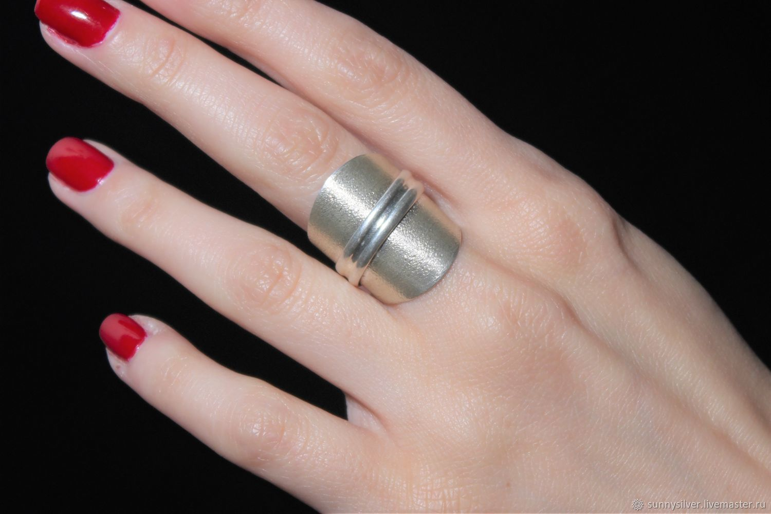 Minima series ring made of combined 925 sterling silver, Rings, Yerevan,  Фото №1