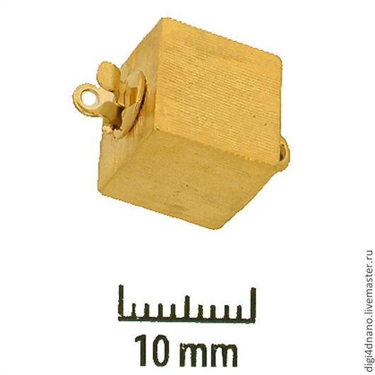Для украшений ручной работы. Ярмарка Мастеров - ручная работа. Купить Замок для бус или браслета на 1 нить, №53. Handmade.
