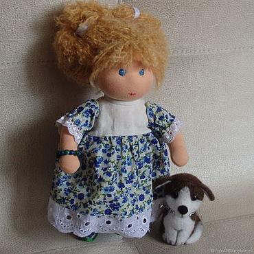 Куклы и игрушки ручной работы. Ярмарка Мастеров - ручная работа Вальдорфская кукла Асенька. Handmade.