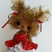 Куклы и игрушки ручной работы. Ярмарка Мастеров - ручная работа Мишка - девочка. Handmade.