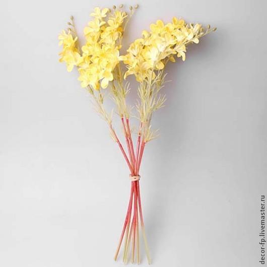 Цветы ручной работы. Ярмарка Мастеров - ручная работа. Купить Искусственные цветы. Handmade. Разноцветный, ткань