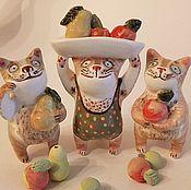 Сувениры и подарки handmade. Livemaster - original item Ceramic composition