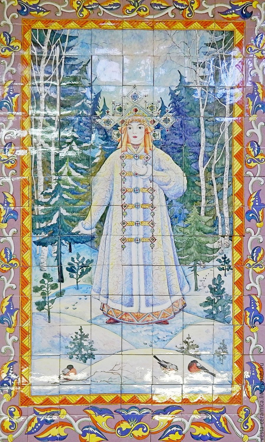 Panel 'The Snow Maiden', Pictures, Moscow,  Фото №1