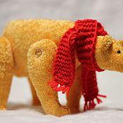 Мягкие игрушки ручной работы. Ярмарка Мастеров - ручная работа Мягкие игрушки: Солнечный мишка. Handmade.