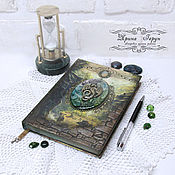 "Канцелярские товары handmade. Livemaster - original item Ежедневник ""Тайна Дракона"". Handmade."