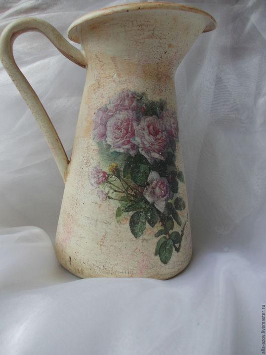 """Вазы ручной работы. Ярмарка Мастеров - ручная работа. Купить Кувшин""""Винтажный"""". Handmade. Кувшин, ручная работа купить, ваза для цветов"""