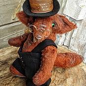 """Куклы и игрушки ручной работы. Ярмарка Мастеров - ручная работа Тедди- лис """" Джексон"""". Handmade."""