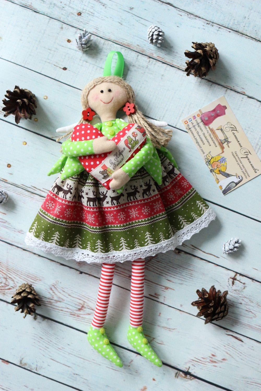 Рождественский ангелочек, Куклы Тильда, Москва,  Фото №1