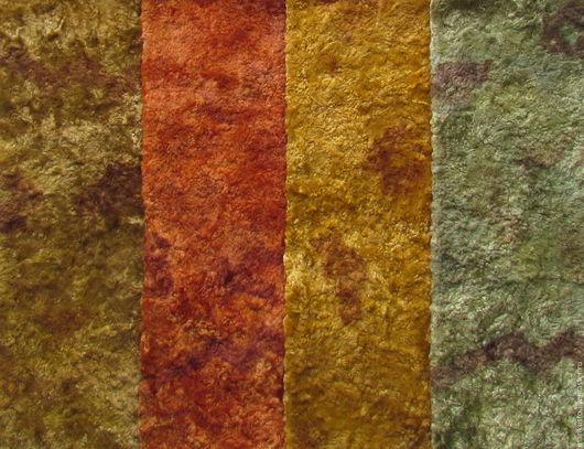 плюш винтажный, плюш ручного окраса плюш для тедди, материалы для тедди, плюш, заваленный, плюш для мишек, коричневый, рыжий, оливковый,  Марина Кустова, Ярмарка Мастеров