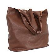Сумки и аксессуары handmade. Livemaster - original item Red satchel Bag from leather bag shopper Bag Mike. Handmade.
