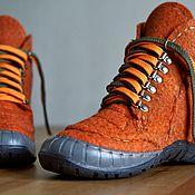 Обувь ручной работы handmade. Livemaster - original item Women`s red shoes. Handmade.