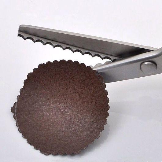 """Шитье ручной работы. Ярмарка Мастеров - ручная работа. Купить Ножницы """"Волна"""" 5 мм. Handmade. Ножницы для рукоделия, волна"""