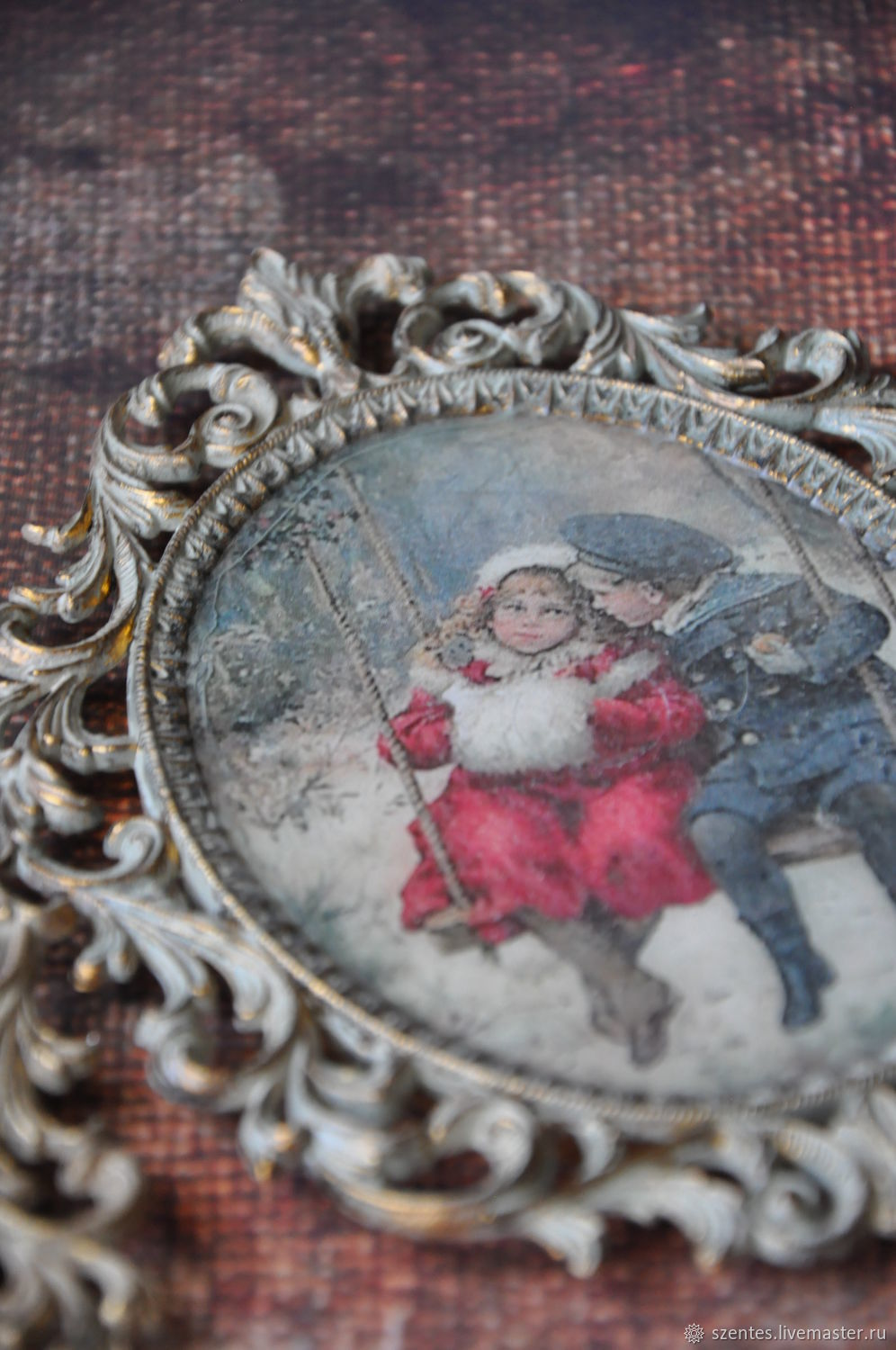 Portraits handmade. Livemaster - handmade. Buy Vintage frames.Vintage, pictures on the wall
