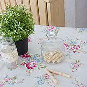Скатерть из ламинированного хлопка Весенние цветы