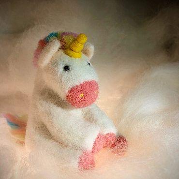 Куклы и игрушки ручной работы. Ярмарка Мастеров - ручная работа Единорог Рональд. Handmade.