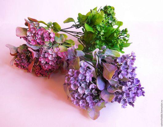 Другие виды рукоделия ручной работы. Ярмарка Мастеров - ручная работа. Купить Мелкоцвет (пластик) три расцветки 30 см. Handmade.
