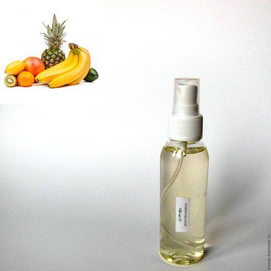 Ярмарка Мастеров - ручная работа. Купить Флакон с жидкостью с Тропическим ароматом 100 мл на основе натуральных масел для ароматизатора-диффузора для дома. Handmade.