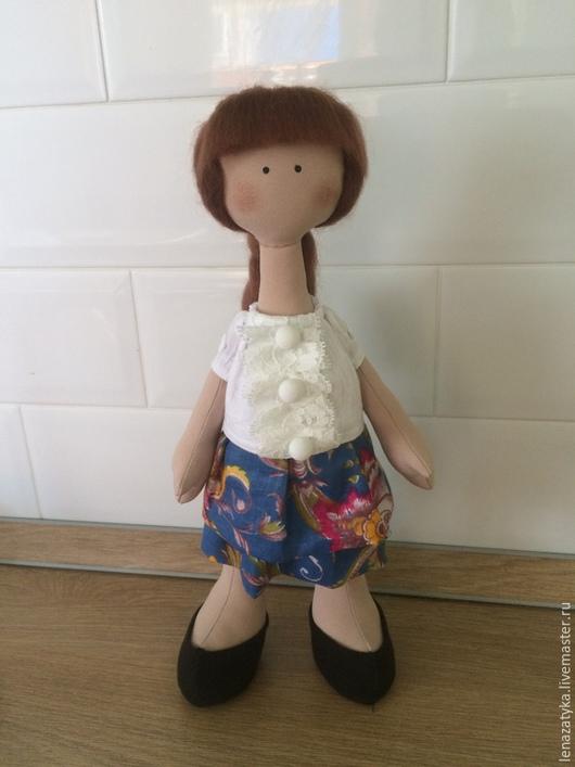 Коллекционные куклы ручной работы. Ярмарка Мастеров - ручная работа. Купить Кукла снежка. Handmade. Интерьерная кукла, декор для интерьера