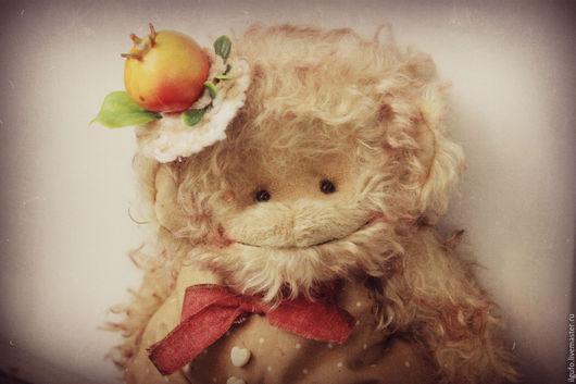 Мишки Тедди ручной работы. Ярмарка Мастеров - ручная работа. Купить Linda. авторская обезьянка тедди ручной работы. Handmade.