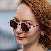 Аксессуары handmade. Livemaster - original item Wooden polarized Milton sunglasses. Handmade.