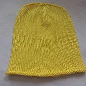 Работы для детей, ручной работы. Ярмарка Мастеров - ручная работа Желтая шапочка. Handmade.