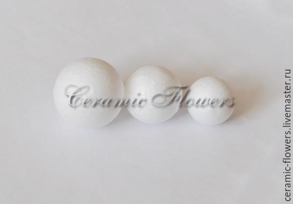 Styrofoam balls of different sizes, Basket, Rostov-on-Don,  Фото №1