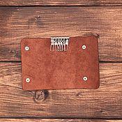 Сумки и аксессуары handmade. Livemaster - original item The housekeeper is male for 6 keys leather. Handmade.