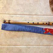 Музыкальные инструменты ручной работы. Ярмарка Мастеров - ручная работа Флейта бансури F. Handmade.