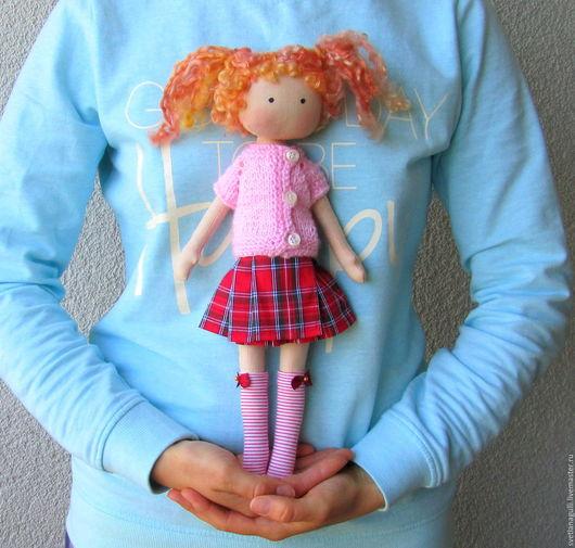 Человечки ручной работы. Ярмарка Мастеров - ручная работа. Купить Кукла со сменной одеждой. Тряпичная Кукла. Текстильная Кукла. (3). Handmade.