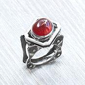 Украшения handmade. Livemaster - original item Pomegranate (ring) (937). Handmade.