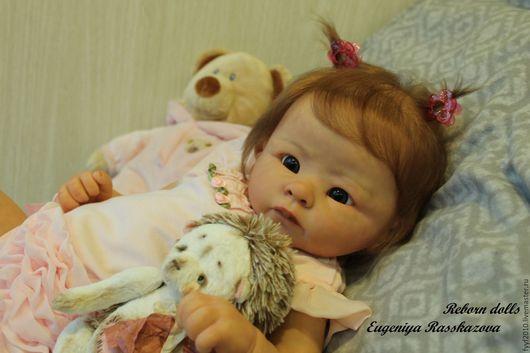 Куклы-младенцы и reborn ручной работы. Ярмарка Мастеров - ручная работа. Купить Эшли. Handmade. Золотой, виниловая заготовка, винил