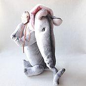 Stuffed Toys handmade. Livemaster - original item Rat Lariska. Handmade.