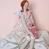Куклы и игрушки ручной работы. Ярмарка Мастеров - ручная работа Кукла Тильда Мася и Бузя. Handmade.