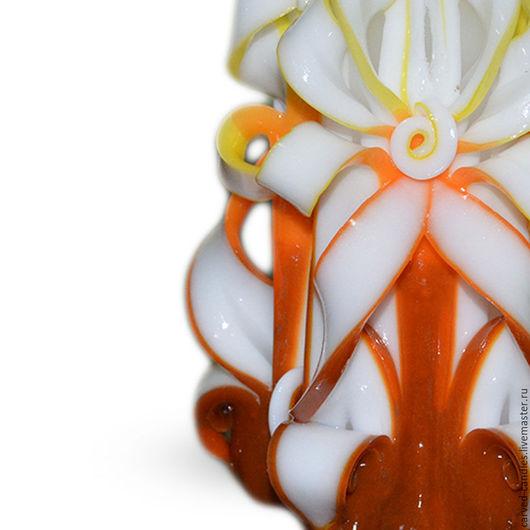 """Свечи ручной работы. Ярмарка Мастеров - ручная работа. Купить Резная свеча  """" Амбре """". Handmade. Свеча"""