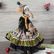 Куклы и игрушки ручной работы. Ярмарка Мастеров - ручная работа Интерьерная кукла Баба Яга.. Handmade.