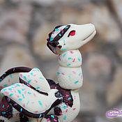 Мягкие игрушки ручной работы. Ярмарка Мастеров - ручная работа Дракон Зефир. Handmade.