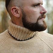 Одежда ручной работы. Ярмарка Мастеров - ручная работа Вязаный свитер для мужчин. Handmade.