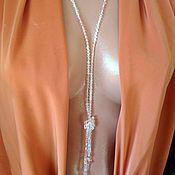 Украшения handmade. Livemaster - original item With pendant, long necklace. Minimalism.. Handmade.