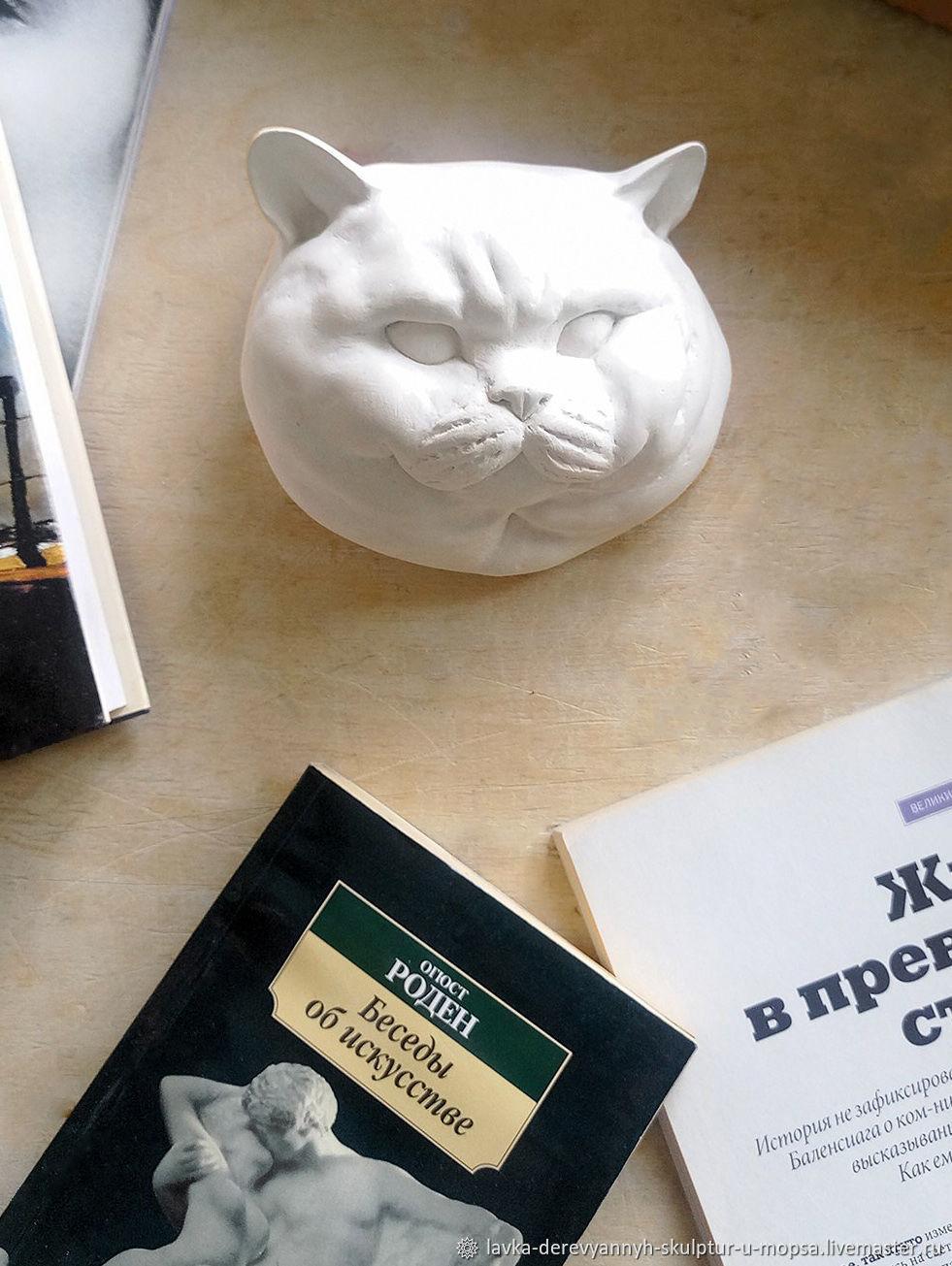 """Скульптура из гипса для декора """"Британский кот"""", Скульптуры, Челябинск,  Фото №1"""