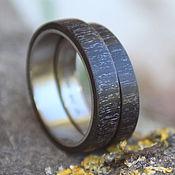 handmade. Livemaster - original item Copy of Copy of Copy of Copy of Wooden rings (paduk,garnet ). Handmade.