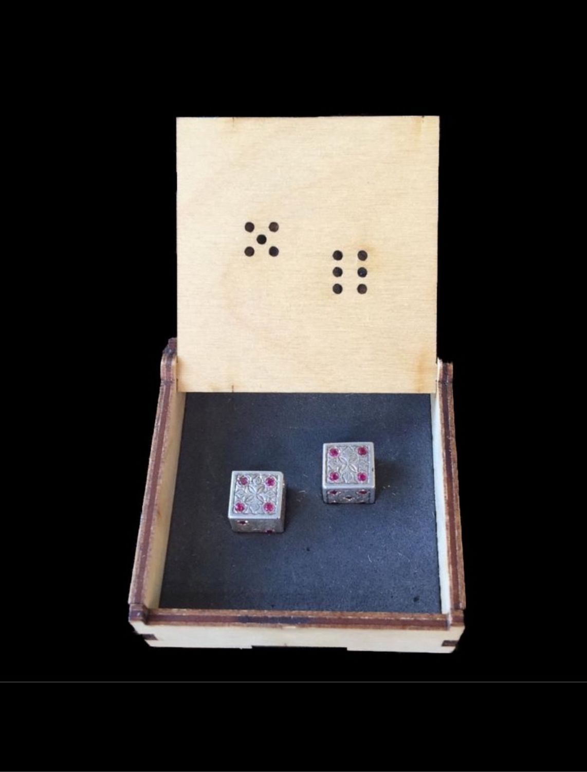 Zariki (bones) for backgammon Art. .049, Packing box, Moscow,  Фото №1