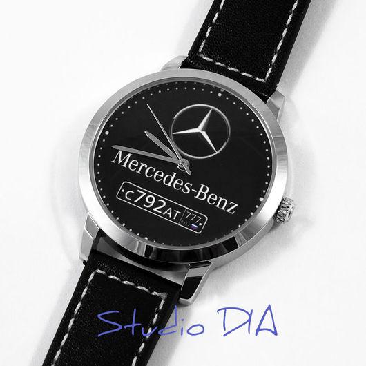Часы Mercedes С Номером. Студия Дизайнерских Часов DIA.