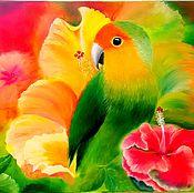 Картины и панно ручной работы. Ярмарка Мастеров - ручная работа райский сад. Handmade.