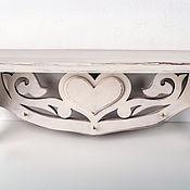 Для дома и интерьера handmade. Livemaster - original item shelf in the style of Provence. Handmade.