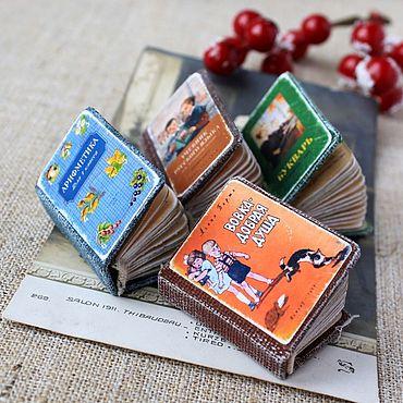 Dolls & toys handmade. Livemaster - original item Miniature book. Agnia Barto