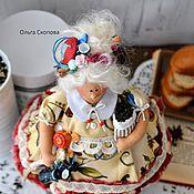 Куклы и игрушки ручной работы. Ярмарка Мастеров - ручная работа Толстушка чайная.. Handmade.