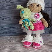 Куклы и игрушки ручной работы. Ярмарка Мастеров - ручная работа Кукла Снежа. Handmade.