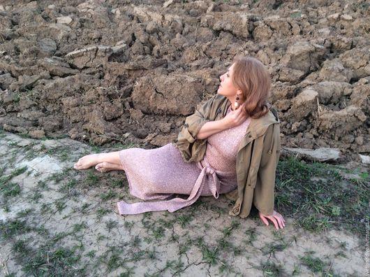 """Платья ручной работы. Ярмарка Мастеров - ручная работа. Купить Платье """" Гламур"""". Handmade. Ручная работа, вязаное платье"""