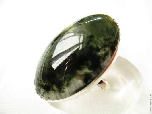кольцо `Луговые травы` цена 3000 , хлоритовый кварц