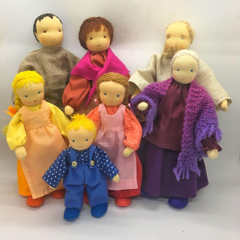 Вальдорфские куклы для кукольных сказок  для детей от 6-лет, Вальдорфские куклы и звери, Москва,  Фото №1